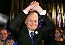 Президентом Литвы избран Науседа