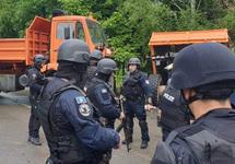Полицейский рейд на севере Косово: задержан россиянин из миссии ООН