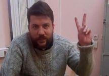 На Леонида Волкова после 20 суток ареста составили новый протокол за акцию 9 сентября
