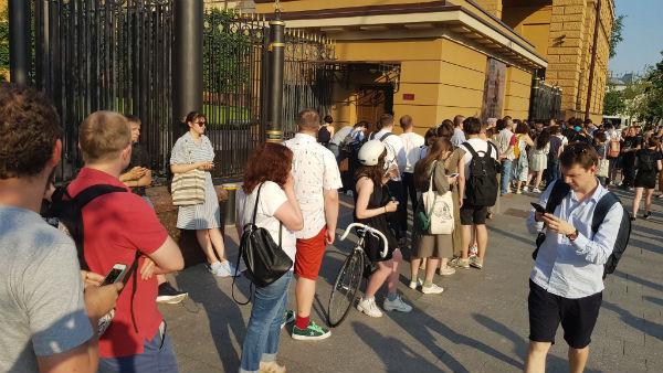 В Москве на пикетах в поддержку Голунова задержали 12 человек